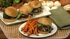 Daphne Oz's Mushroom Sliders with Sweet Potato Oven Fries
