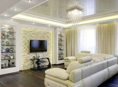 6 Easy And Cheap Useful Ideas: False Ceiling Design Home false ceiling bedroom simple.False Ceiling Design Home curved false ceiling interior design. Room Design, Apartment Design, Apartment Interior, False Ceiling Bedroom, False Ceiling Design, Modern Interior Design, Luxury House Designs, Home Interior Design, Living Room Designs