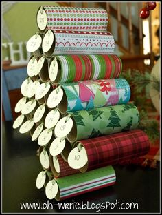 Toilet paper advent calender.