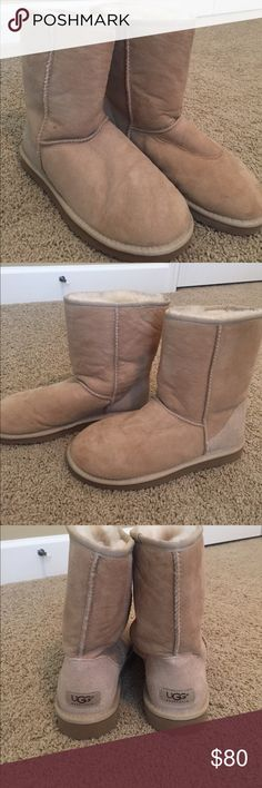 Classic short UGG boot Classic short UGG boot - excellent condition. The wear on the inside sole is very minimal. UGG Shoes Ankle Boots & Booties