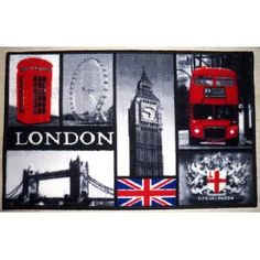 London Rug in Grey dCor design Rug size: Rectangular 120 x