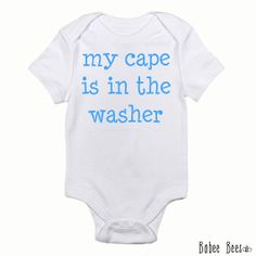 2960df80b Items similar to SHIPS ASAP, My Cape is in the Washer, I'm Really a  Superhero, Baby Boy Shirt, Baby Boy Clothes, Toddler Boy Shirt, Toddler Boy  Clothes on ...