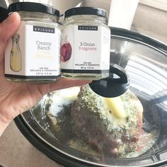 0 sugar, and Keto friendly! Epicure in the crockpot. Epicure Recipes, Keto Recipes, Healthy Recipes, Clean Eating, Healthy Eating, Spice Blends, Crockpot Meals, Gratitude, Crock Pot