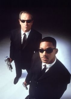 Tommy Lee Jones and Will Smith- Love Men in Black