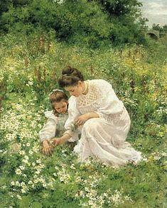 Picking Daisies - Hermann Seeger