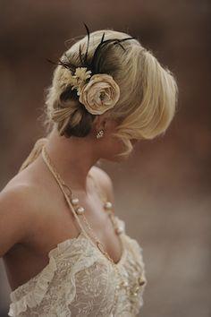 gorgeous!! bride haircut