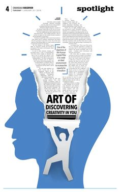Art of discovering creativity in you