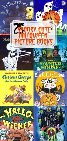 25 Spooky Cute Halloween Picture Books