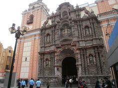 Iglesia La Merced De Peru In | Iglesia de la Merced, Lima, Perú (1/2)