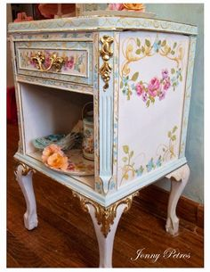 Darling nightstand via napoleons note's: Rococo Style