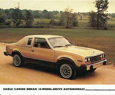 1980 AMC Eagle Two Door Sedan