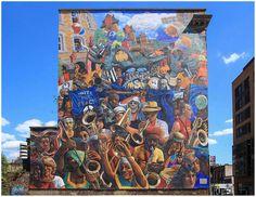 Hackney Peace Carnival Mural   Flickr - Photo Sharing!