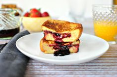 Here's how to turn your PB&J sandwich into the most delicious breakfast: peanut butter and jelly french toast.