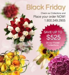 Huge Black Friday sale! 25% off ALL WEDDING FLOWERS! www.Bridesign.com