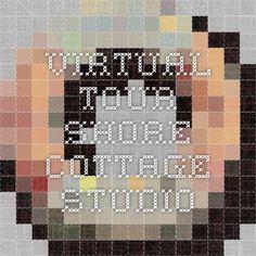 Virtual Tour - Shore Cottage Studio Garden Studio, Virtual Tour, Cottage, Tours, Cottages, Cabin, Cabins