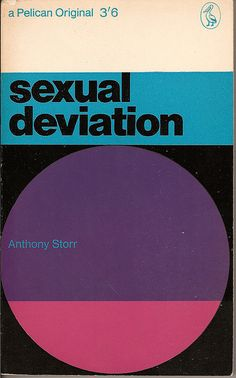 Sexual Deviation - Pelican book cover by Covers etc, via Flickr