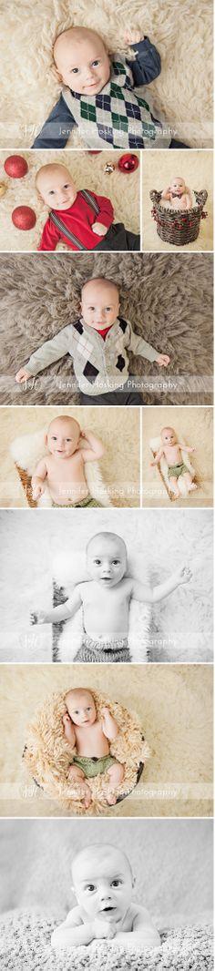 3 month old session-Jennifer Hosking Photography