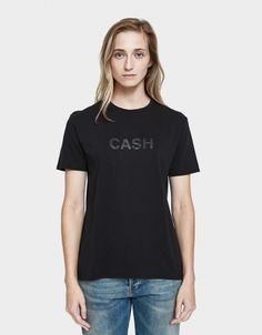 Cash Boy T in Jet Black