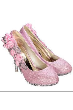 8CM Women Bridal Wedding High Heels Glitter Flowers Shoes Crystal Dance Party | ราคา: ฿655.00 | Brand: Unbranded/Generic | See info: http://www.topsellershoes.com/product/34009/8cm-women-bridal-wedding-high-heels-glitter-flowers-shoes-crystal-dance-party