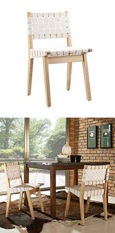 Woven Dining Chair | dotandbo.com