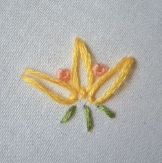 I ❤ embroidery . . . Lazy Lotus Tutorial