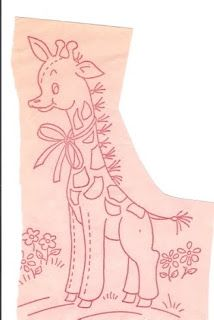 Lace 'n' Ribbon Roses: Baby Animals .... Redwork or BlueWork Hand Embroidery Patterns
