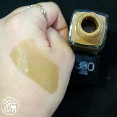 Maybelline Fit Me Matte+Poreless Foundation Review and Swatches   Doll Up Mari Waterproof Foundation, Estee Lauder Pleasures, Maybelline Foundation, Fit Me Matte And Poreless, Beauty Youtubers, Normal Skin, Makeup Blog, Glass Bottles, Make Up