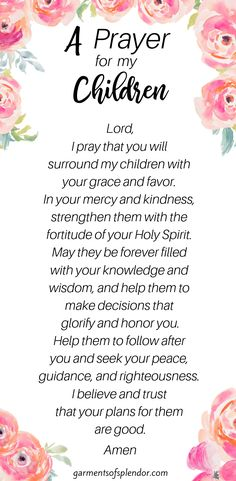 Use this free prayer calendar to pray 35 scriptures over your children each day! Use these 35 Scriptures to pray over your children each day. This post on prayer also comes with a free printable prayer calendar! Mothers Day Bible Verse, Prayer Scriptures, Bible Prayers, Faith Prayer, Prayer For Wisdom, Scriptures For Encouragement, Catholic Prayers Daily, Prayer Books, Jesus Prayer