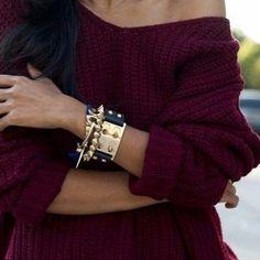 """свитер вязаный цвета """"марсала"""""""