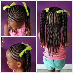 little black girl braid hairstyles - Google Search