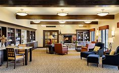 Paintbrush Assisted Living common area