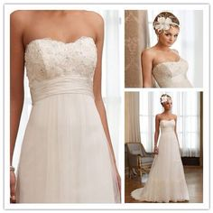 Robe de mariée a fleur