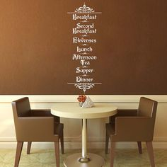 Hey, I found this really awesome Etsy listing at https://www.etsy.com/listing/172167571/hobbit-menu-tolkien-wall-vinyl