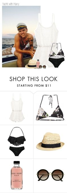 """""""Yacht with Harry"""" by shefi-22 ❤ liked on Polyvore featuring Victoria's Secret, Dolce&Gabbana, Seafolly, H&M, Bobbi Brown Cosmetics, Matthew Williamson and EK1DFavSet"""