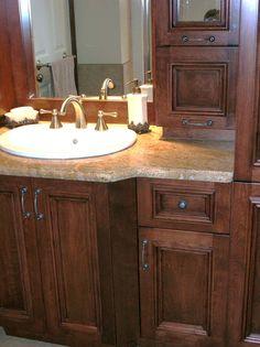 Vanit double caissons salle de bain pinterest for Vanite salle de bain ikea