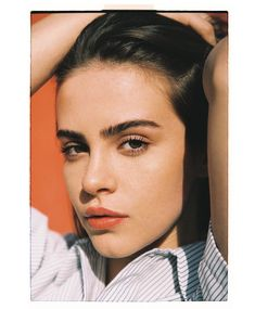 Bridget Satterlee Source🌼 — Bridget for Nous Models Bridgette Satterlee, Ponytail Girl, Bare Face, Thing 1, Beauty Shots, Stylish Girl Images, Poses For Pictures, Cute Girl Photo, Just Girl Things