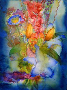 Botanicals 2013 | Carol Carter Watercolors and Acrylics