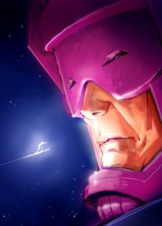 Galactus and Silver Surfer by ~pungang on deviantART