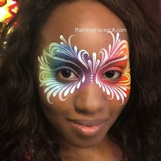 Face Painting pretty eye design