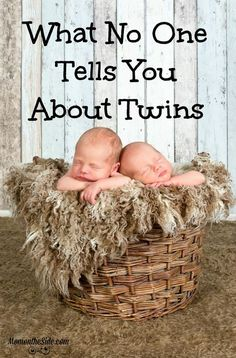 What No One Tells You About Twins or at the least things no one told me. I read lots of books, visited a lot of websites, but nothing prepared me for boy girl twins! via @momontheside