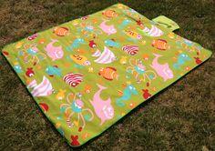 Se pueden usar para que los niños no tengan contacto directo al suelo, en el parque, plaza, playa, pasto, para evitar el contacto con los ácaros de las alfombras!