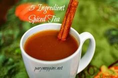 Spiced Tea The whole recipe is at http://porkrecipe.org/posts/Spiced-Tea-32600