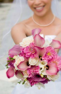 bruidsboeket gerbera wit - Google zoeken