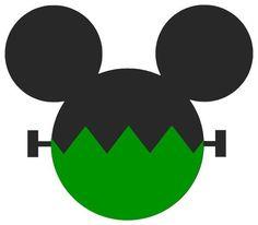 Mickey Mouse Halloween, Halloween Vinyl, Halloween Scrapbook, Theme Halloween, Disney Scrapbook, Halloween Cards, Halloween Shirt, Fall Halloween, Scrapbooking