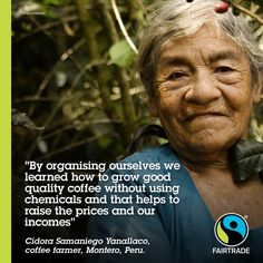 Meet Cidora, one of the inspiring and strong women within Fairtrade! #FairTradeMonth