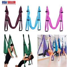 Flying Hammock Inversion Swing Aerial Yoga Fitness Pure And Mild Flavor Fitness & Body Building
