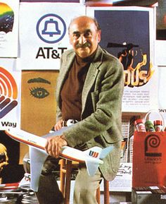 Saul Bass was an iconic graphic designer across a range of media but is best known as the undisputed master of film title design, collaborating with such movie legends as Alfred Hitchcock, Otto Preminger and Martin Scorsese. In 1981, he was awarded an AIGA medal.