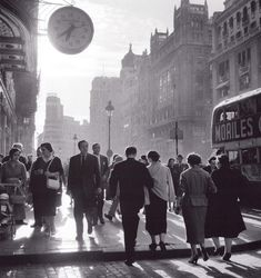 Gran Via.1955.Cas Oorthuys.