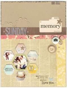 Inspiration thursday on the green frog studio///I love this layout so much i can't even tell you