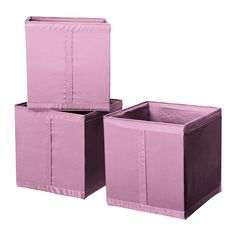 """SKUBB Box IKEA Easy to pull out as the box has a handle on the side. All three boxes fit side by side in a 39 3/8"""" wide wardrobe frame...."""